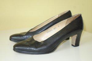 Aigner High Heels black leather