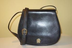 Org. AIGNER vintage Umhängetasche/Crossbody bag schwarz top inkl.Dustbag