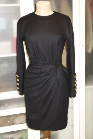 Akris Cocktail Dress black wool