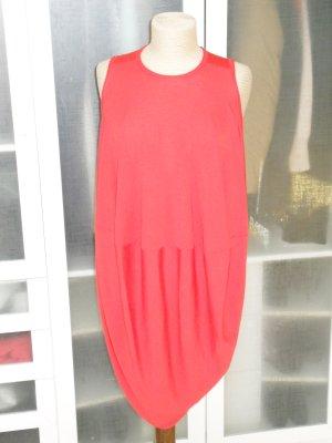 Alexander McQueen Gebreide jurk rood