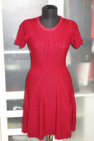 Temperley london Abito di maglia rosso scuro