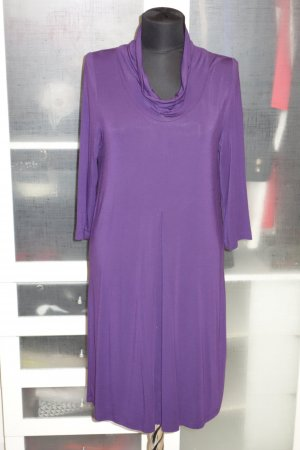 Org. ALLUDE Jersey Kleid in lila Gr.S