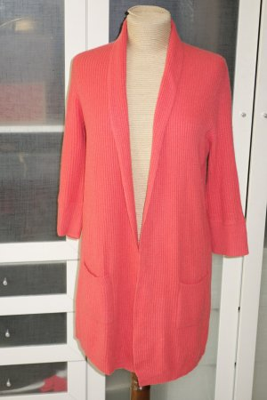 Org. ALLUDE oversized Kaschmir long Strickjacke in apricot Gr.XS