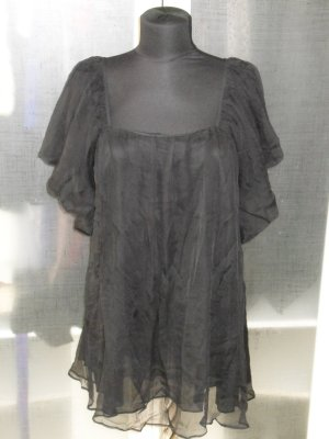 Anne Fontaine Top black silk