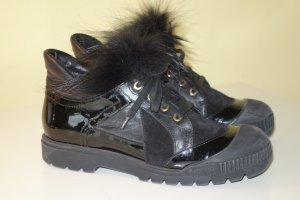 Org. BALDININI Schnür-Boots/Sneaker mit Fell inkl.Karton Gr.37