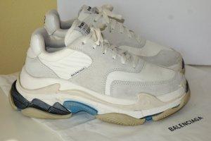Org. BALENCIAGA Triple S Platform Sneaker Nylon wie neu Gr.38