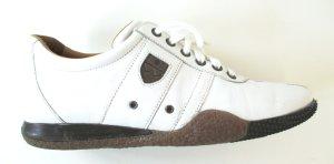 """Org. Bally sneaker """"Anne""""/Leder/Weiss/Gr. 36.5"""