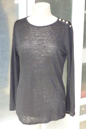 Balmain Jersey negro Lino