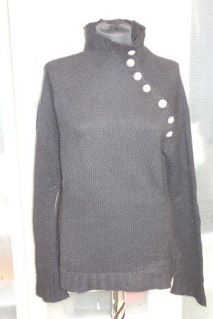 Balmain Pull noir laine