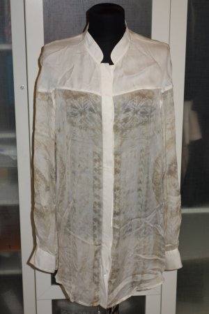 Balmain Blusa de seda multicolor Seda