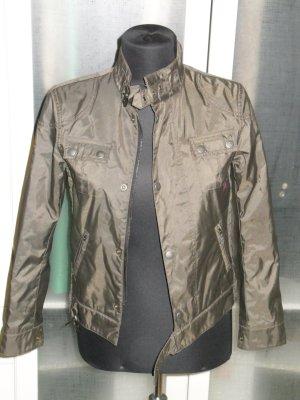 Org. BELSTAFF Biker-Jacke oliv khaki Gr.34 wie neu
