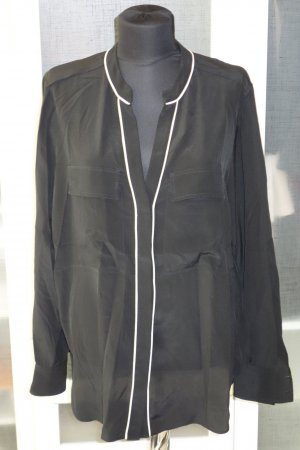 Belstaff Silk Blouse black silk