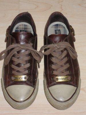 Org. BELSTAFF Sneaker dunkelbraun Gr.37