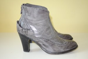Belstaff Booties dark grey leather