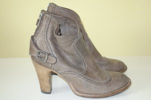 Belstaff Booties ocher leather