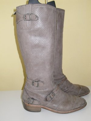 Belstaff High Boots grey leather