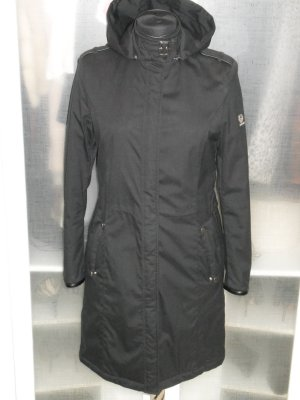 Org. BELSTAFF Wintermantel schwarz gold label Gr.36