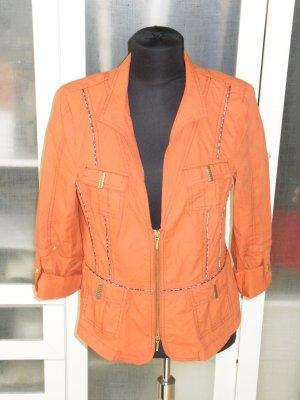 Org. BIBA Jacke orange Gr.38