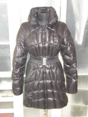 Blauer Abrigo negro