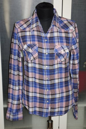 Blauer Checked Blouse multicolored