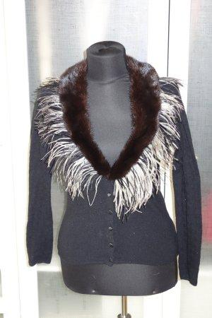 Blumarine Knitwear black-brown