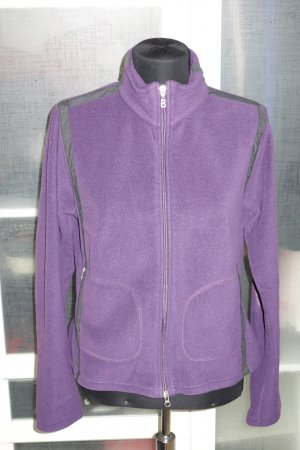 Org. BOGNER Fire+Ice Fleece-Jacke lila Gr.38/40