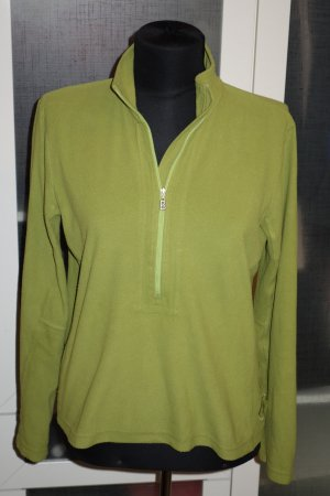 Org. BOGNER Fire+Ice Fleece Pullover grün Gr.38