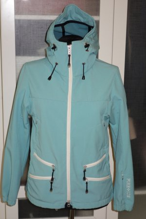 Org. BOGNER Fire+Ice Softshell-Jacke in türkis Gr.38