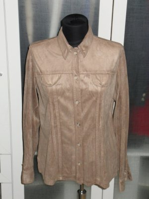 Org. BOGNER Jeans Hemd/Bluse aus Alcantara Gr.M