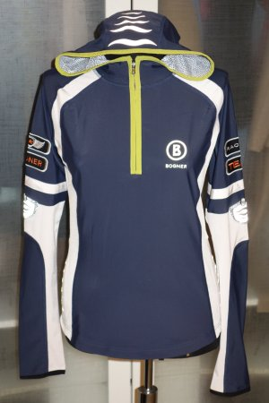 Org. BOGNER Racing Team Ski Hoodie in navy Gr.38