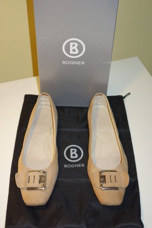 Org. BOGNER Slipper/Ballerinas Gr.39 inkl. Karton+Dustbag
