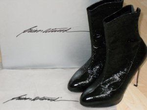 Org. BRIAN ATWOOD crashed Plateau Booties schwarz