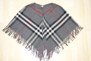 Burberry Cape dark grey-dark red