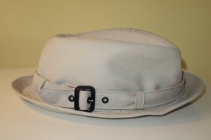 Org. BURBERRY London Hut bucket hat in beige NEU+Etikett