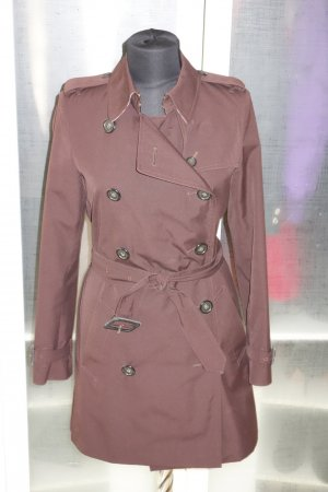 Org. BURBERRY London Trenchcoat in dunkelbraun Gr.34