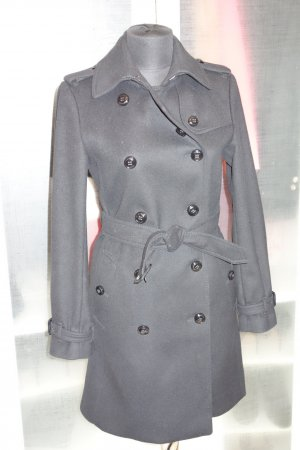 Org. BURBERRY London Woll-Trenchcoat mit Kaschmir Gr.34