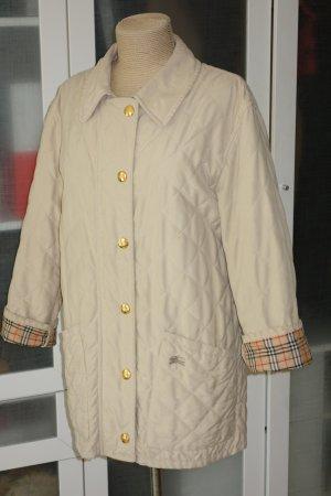 Org. BURBERRY Stepp-Jacke/Kurzmantel Nova Check Futter in beige Gr.40/42