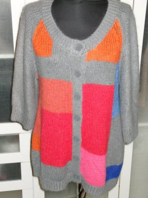Org. BY MALENE BIRGER multicolour Strickjacke colour-block Gr.M