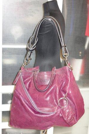 Org. CHLOE oversized Tasche in purpur/fuchsia