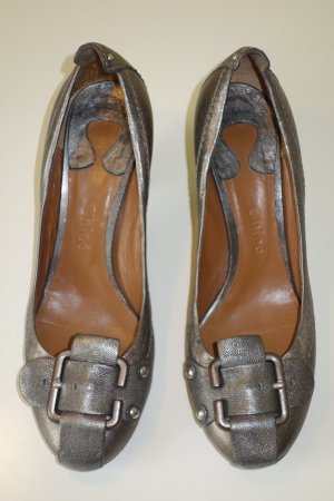 Org. CHLOE Pumps in metallic Gr.39