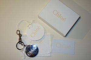 Org. CHLOE Schlüsselanhänger/Keyring silber Metall NEU+Karton