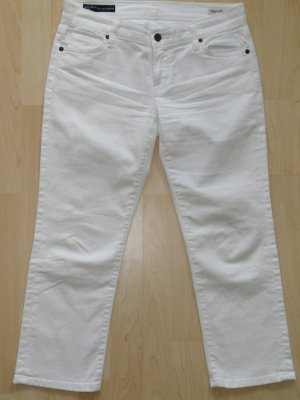 Org. CITIZENS of HUMANITY low waist crop Jeans weiss Gr.27