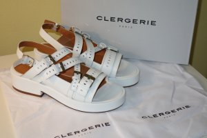 Robert clergerie Platform Sandals white leather