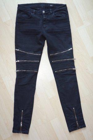 Closed Jeans da motociclista antracite
