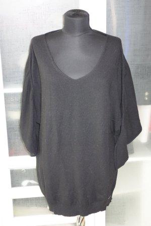 Org. COSTUME NATIONAL Pullover mit Fledermausärmeln schwarz