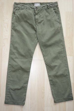 """Org. CURRENT ELLIOTT Chino """"the captain trouser"""" in army green Gr.27"""