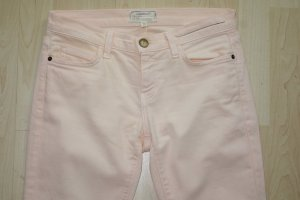 Current/elliott Skinny Jeans light pink-pink cotton
