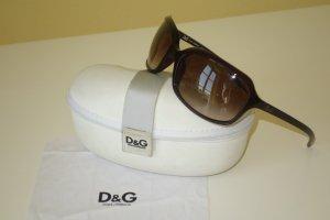 Org. D&G Dolce & Gabbana Sonnenbrille D&G8071 braun-rot inkl.Etui
