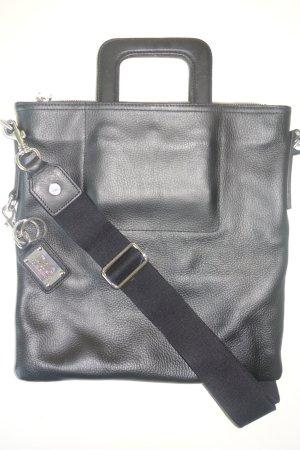 Org. D&G Dolce & Gabbana Umhänge-/Henkeltasche aus Leder schwarz top