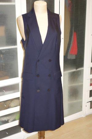 Org. D.GNAK Runway Weste/Kleid doppelreihig dunkelblau Gr.38/40